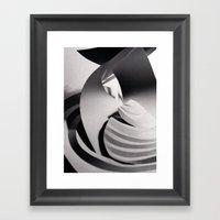 Paper Sculpture #6 Framed Art Print