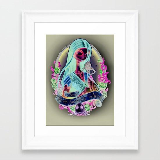 """Something In the Wind"" Framed Art Print"