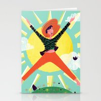 Exuberant! Stationery Cards