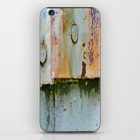 Divots and Paint iPhone & iPod Skin