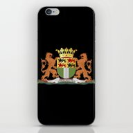 Coat Of Arms Of Rotterda… iPhone & iPod Skin