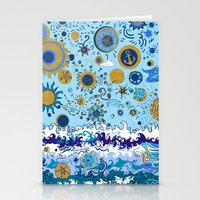 Sun & Sea Stationery Cards