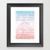 Surf Morning Framed Art Print
