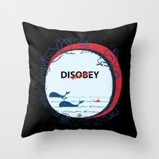 DIS Obey Whale Throw Pillow