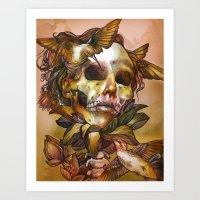 Queen Of Enlightenment  Art Print