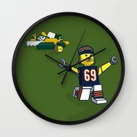 Bears Bricked: Jared All… Wall Clock