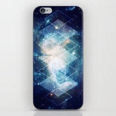 Shining Nebula - Blue iPhone & iPod Skin