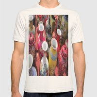 Chinese Pots Mens Fitted Tee Natural SMALL