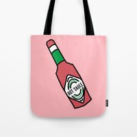 Hot Sauce In My Bag Swag Tote Bag