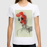 lost in dreams Womens Fitted Tee Ash Grey SMALL