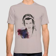 Harry Styles Mens Fitted Tee Cinder SMALL
