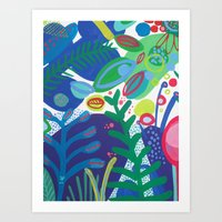 Secret Garden III Art Print