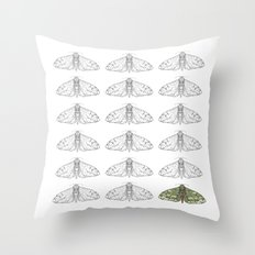 Moonlight Icarus Throw Pillow