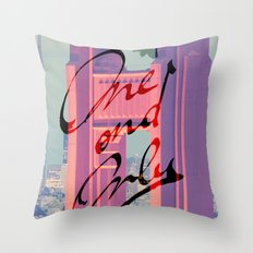 One and Only - San Francisco - Throw Pillow