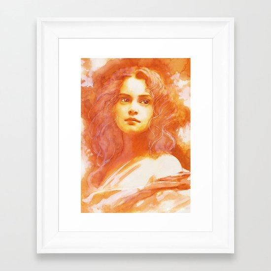 Days with endless wonder Framed Art Print
