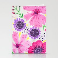 Pinks - Botanical Flower… Stationery Cards