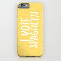 I Vote Spaghetti iPhone 6 Slim Case