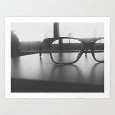 Specs Art Print
