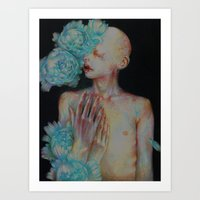 The One Who Once Covered… Art Print