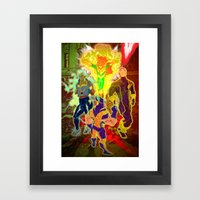 Uncanny X-Men Framed Art Print