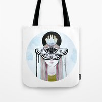 moth queen Tote Bag