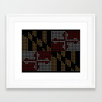 Old Dot State Framed Art Print