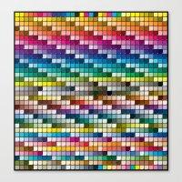 Color Chart Canvas Print
