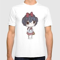 qt face Mens Fitted Tee White SMALL