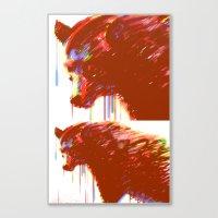 Mr. Grizzle  Canvas Print