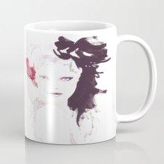 Fashion illustration in watercolors Mug