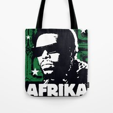 The Mighty Souls: Afrika Bambaataa Tote Bag