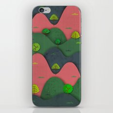 Hills are alive iPhone & iPod Skin