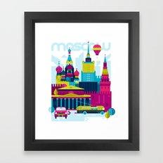 Moscow Framed Art Print