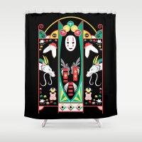 Spirited Deco Shower Curtain