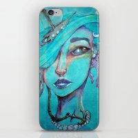 Pearl's Water Ways iPhone & iPod Skin