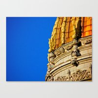 Westmoreland County Courthouse Dome Canvas Print