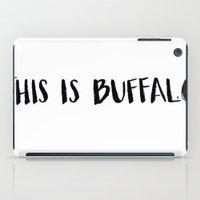 This Is Buffalo iPad Case