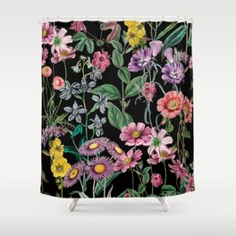 Shower Curtain - NIGHT FOREST XIV - Burcu Korkmazyurek