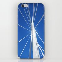 White Suspension iPhone & iPod Skin