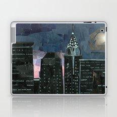 Night time in the city Laptop & iPad Skin