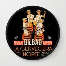 La cervecera del norte Wall Clock