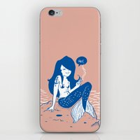 Vampire Mermaid iPhone & iPod Skin