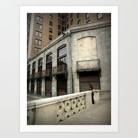 Top Of The Stairs Art Print