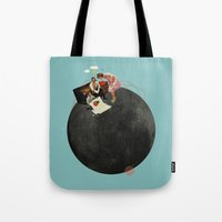 Life On Earth | Collage Tote Bag