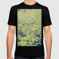 Still Waters Mens Fitted Tee Black SMALL