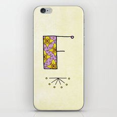 F f iPhone & iPod Skin
