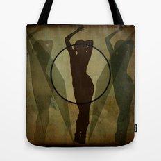 three shadows Tote Bag