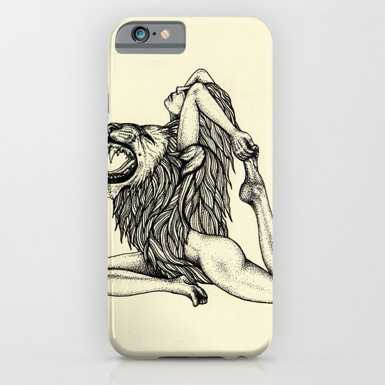 Lion-Hearted Girl iPhone & iPod Case