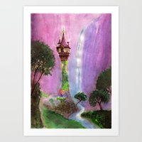The Mystical Tower Art Print