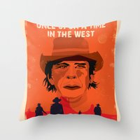 Once Upon A Time In The … Throw Pillow